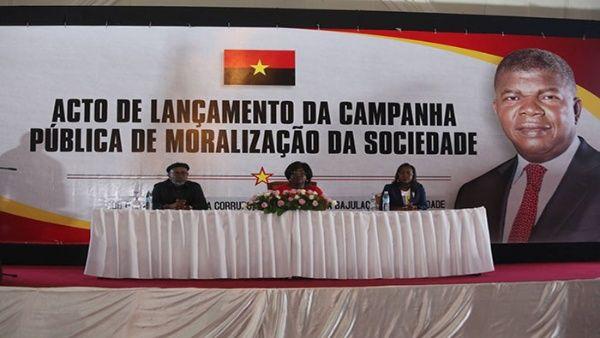 Angola anuncia lanzamiento de una cruzada contra la corrupción