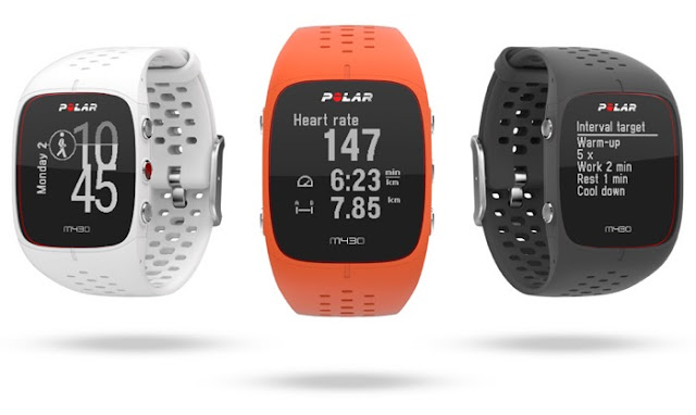 Polar M430 running watch with heart rate monitor