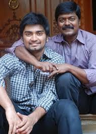 Atharvaa with father Murali