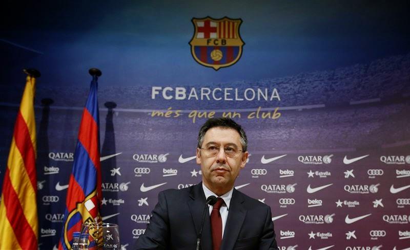 Josep María Bartomeu, presidente del FC Barcelona, imputado por el traspaso de Neymar
