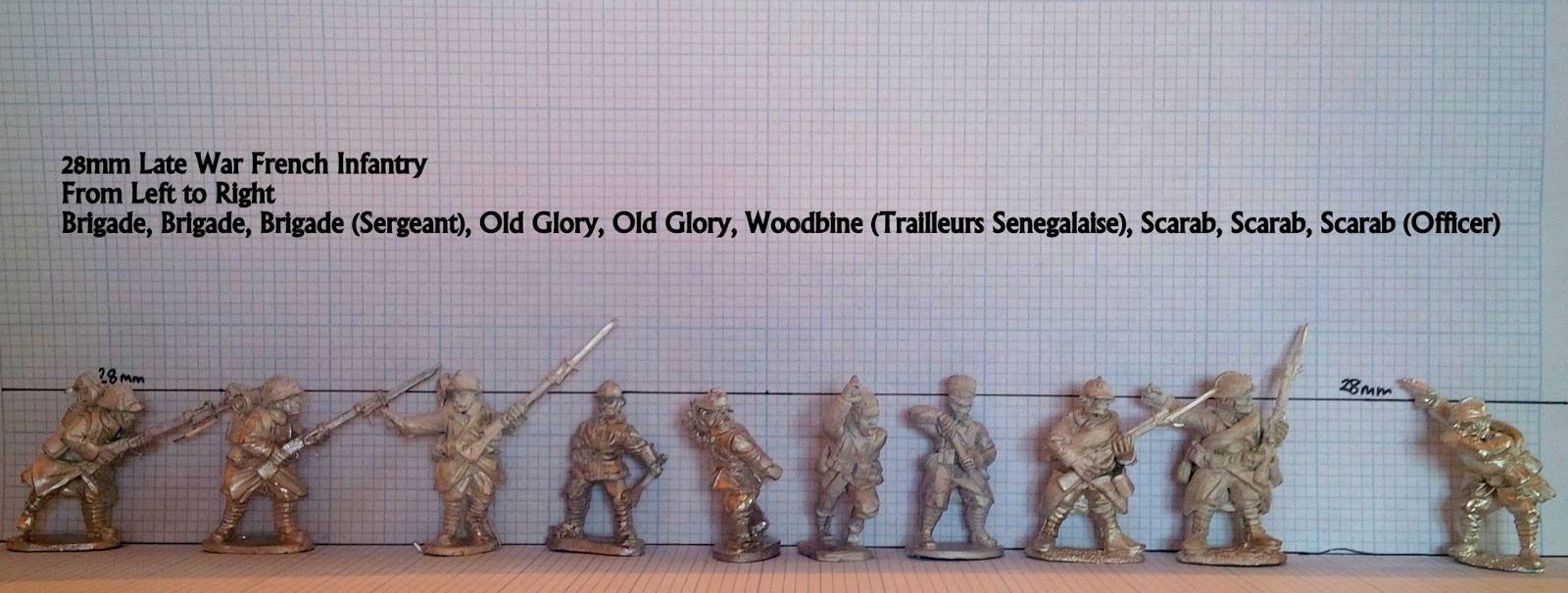 Roundwood's World: The Verdun Project: 28mm Late War French Figure