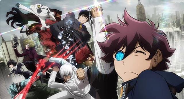 Kekkai Sensen - Anime Action Fantasy Terbaik dan Terseru
