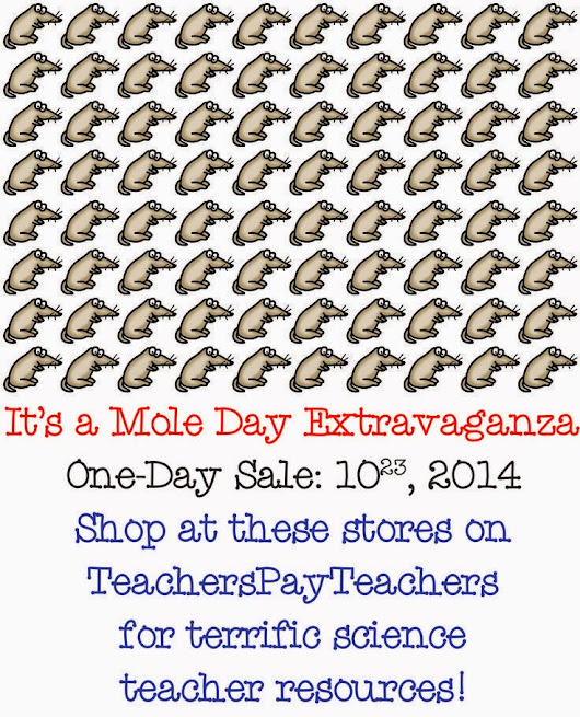 Huge Science Product Sale! Happy MOLE Day!!