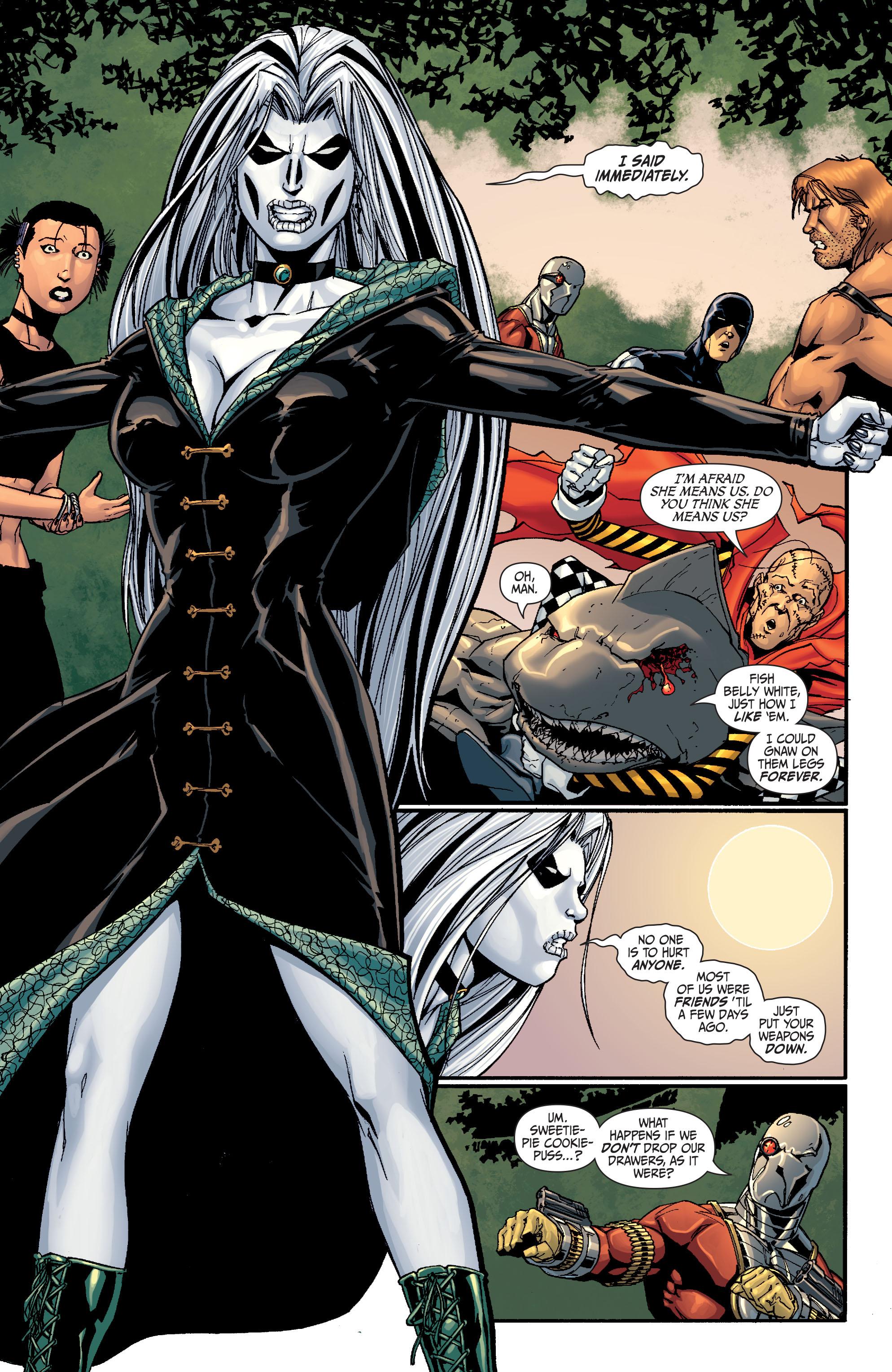 Read online Secret Six (2008) comic -  Issue #27 - 7