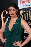 Laxmi Rai in a Deep neck Beautiful Green Gown Cute Actress Laxmi Rai ~  083.JPG
