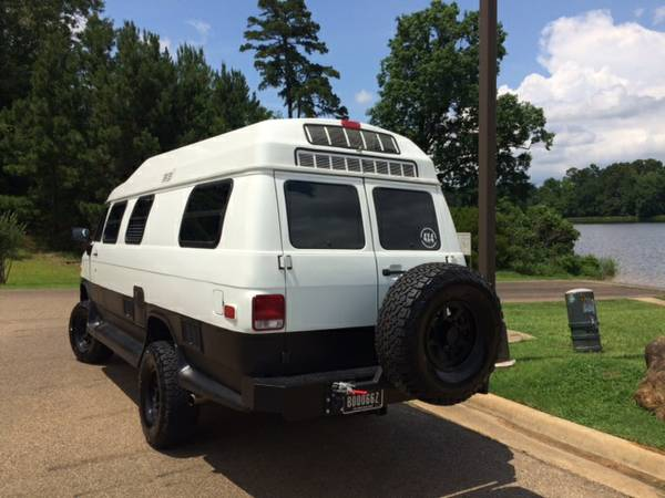 Used RVs 4x4 Camper Van, 1995 Chevy Roadtrek 210 Popular ...
