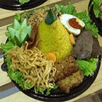 Gambar nasi tumpeng mini