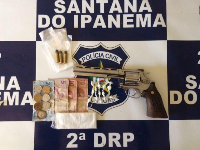 PC prende acusado de tráfico de drogas em Santana do Ipanema