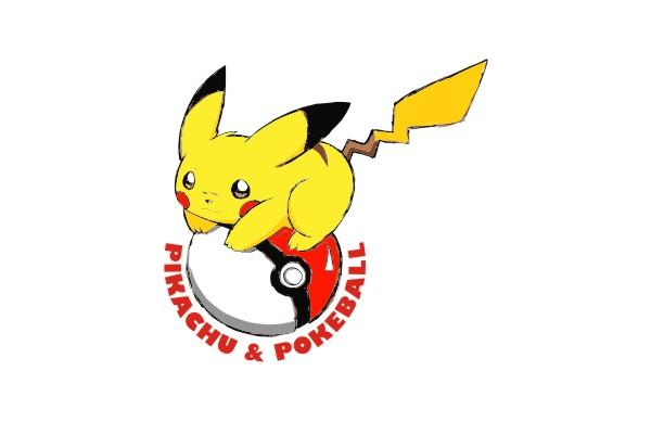 Pokemon Pikachu And Pokeball Vector Game
