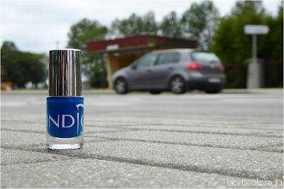 Indigo Neon Blue
