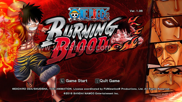 Game Download One Piece Burning Blood Repack