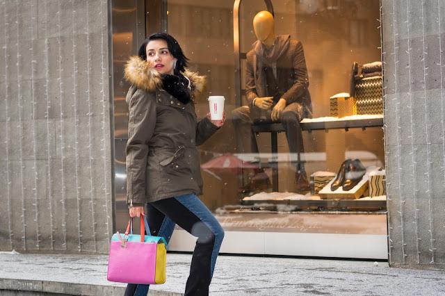 Winter, Street Style,Yerevan, Armenia,  Fashion, Look, Blogger, bag Tous, parka Asos, Monki, Jewel Mania, Nataniel Dobryanskaya, Ереван, Армения, стритстайл, мода, Анна Мелкумян, Anna Melkumian