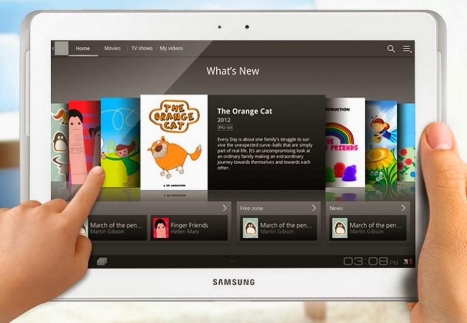 Mono-live: Samsung Galaxy Tab 3