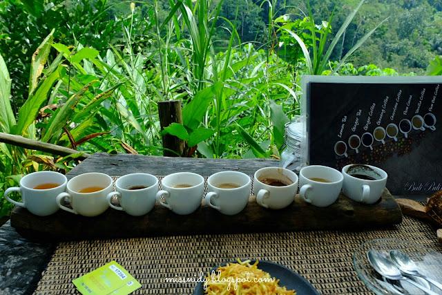 mencicipi berbagai jenis kopi di bali pulina