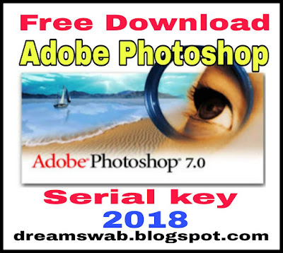 Adobe Photoshop shop 7 serial key.