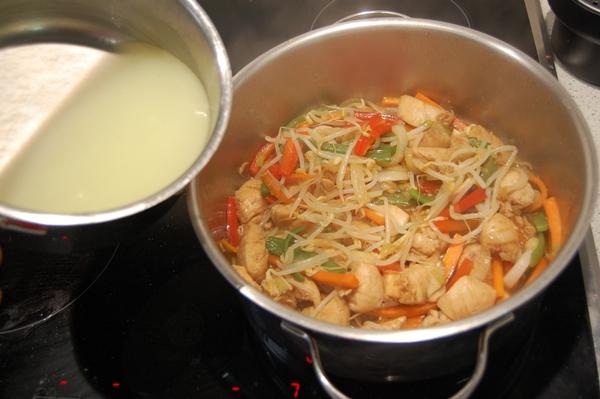 hacer chop suey