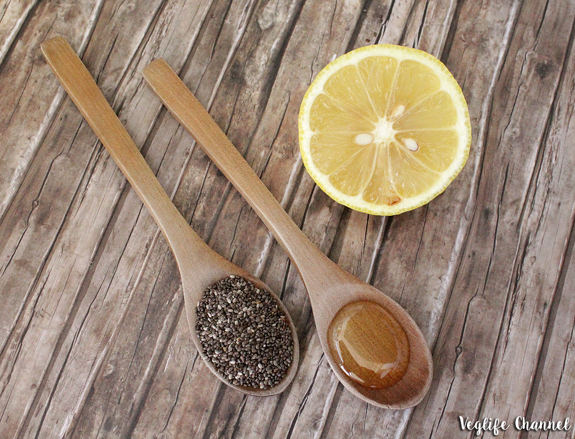 Acqua E Limone La Sera.Bevanda Energizzante Ai Semi Di Chia