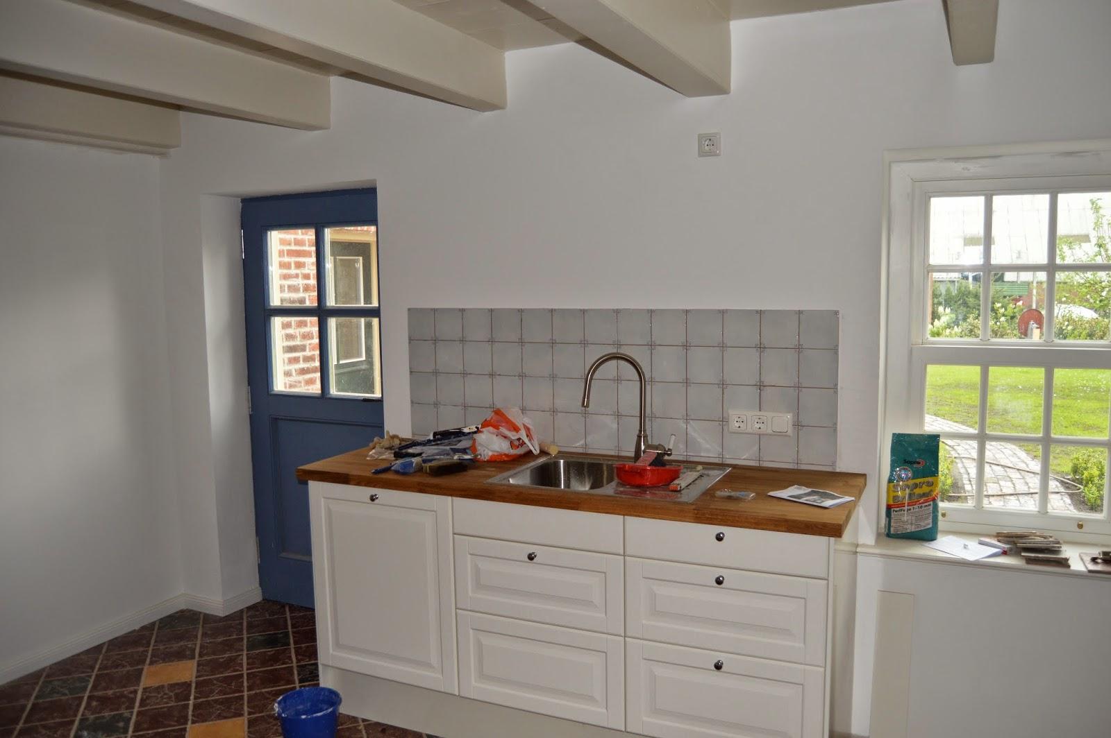 Neue Fronten Für Ikea Küche | Neue Küchenfront In Spiegelglanz Weiß ...