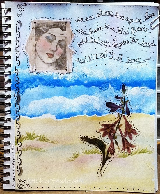 By the Water Art Journal
