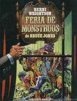 Portada de Feria de monstruos, un increíble trabajo de Bernie Wrightson