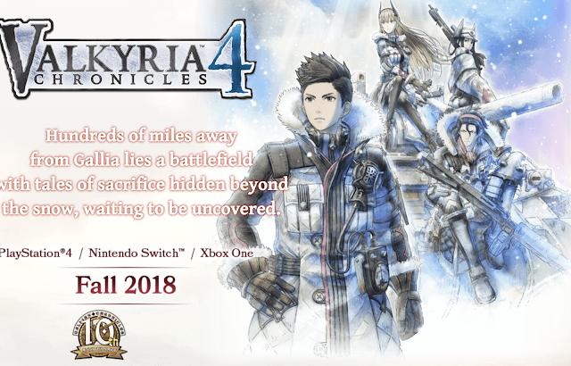 Valkyria Chronicles 4 estrena nueva web oficial