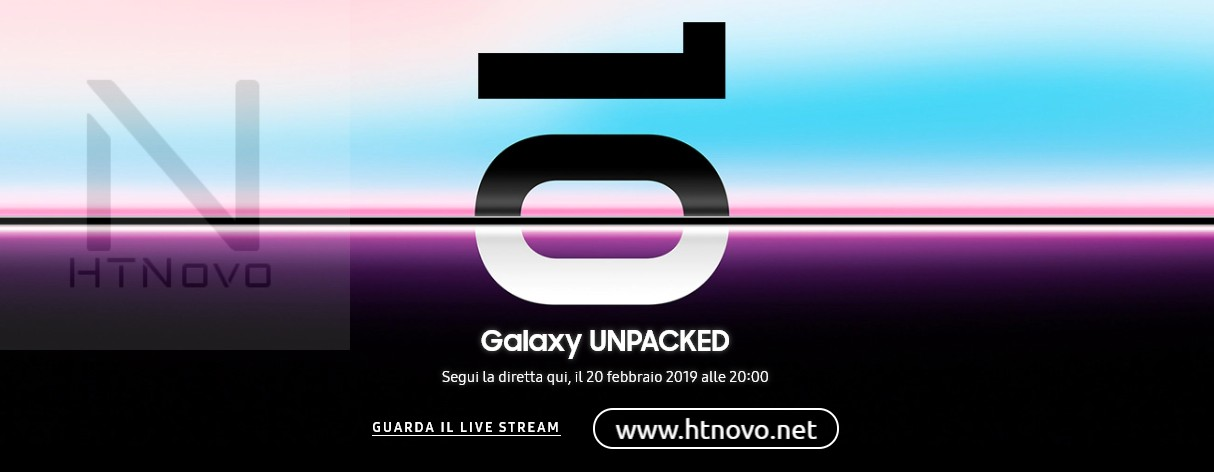 Diretta-Streaming-Samsung-Galaxy-S10