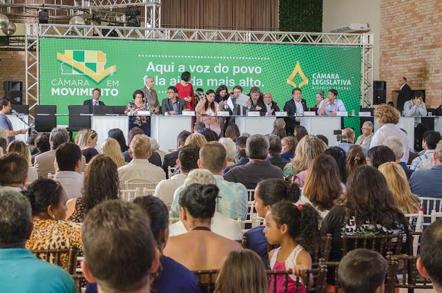 Câmara em Movimento leva Legislativo do DF ao Jardim Botânico