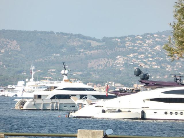 Saint Tropez, yates de lujo