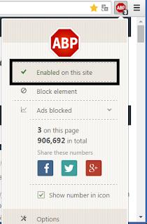 Cara Mematikan Adblock di Google Chrome