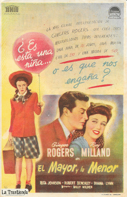 El Mayor y La Menor - Programa de Cine - Ginger Rogers - Ray Milland