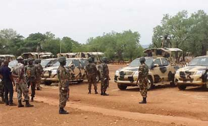 boko haram kidnapped soldiers wives children