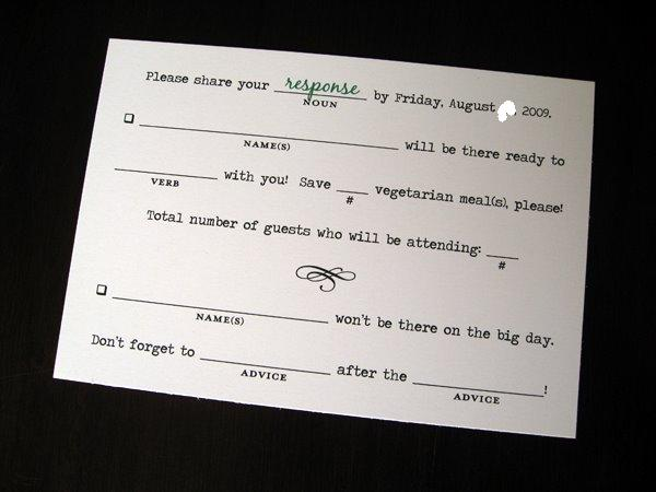 Funny Wedding Invitation Sayings: Tales Of A Tech-Savvy Wife: Fun R.S.V.P. Wording?