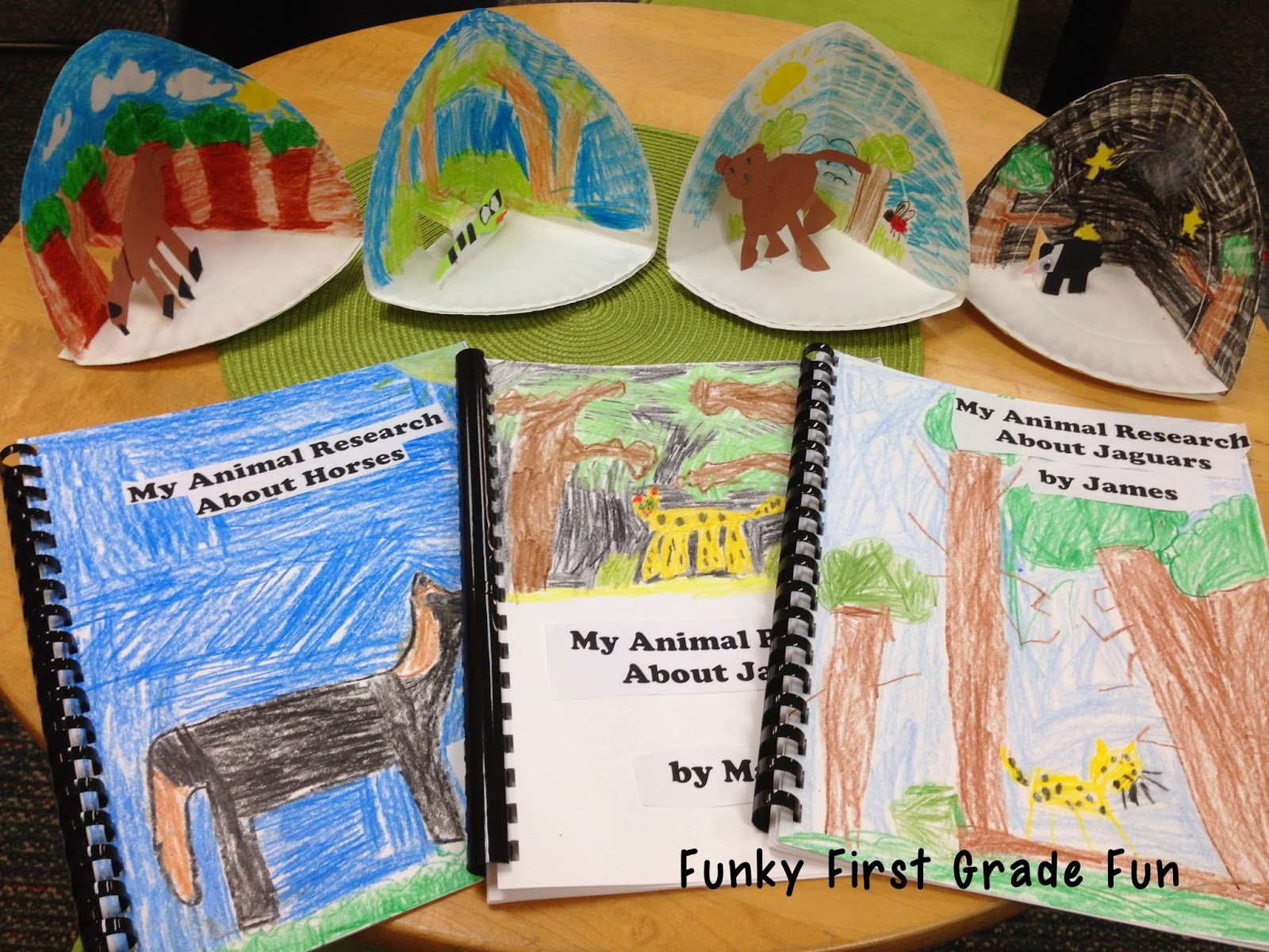 Funky First Grade Fun Animal Research