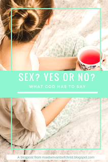 Should I be having sex?  God's word, purity, marriage, single, christian faith