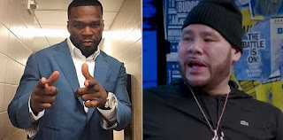50 Cent Mock Fat Joe for Loosing Weight