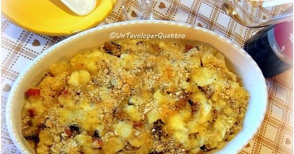 Melanzane e patate gratinate
