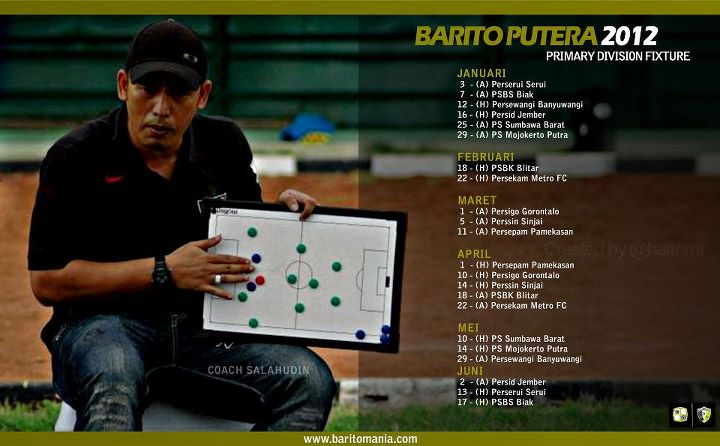 Fajar's Blogspot     : Sejarah Barito Putera