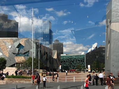snabb krok upp Melbourne