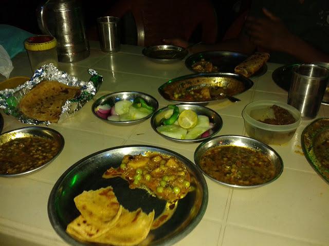 dinner in balaji