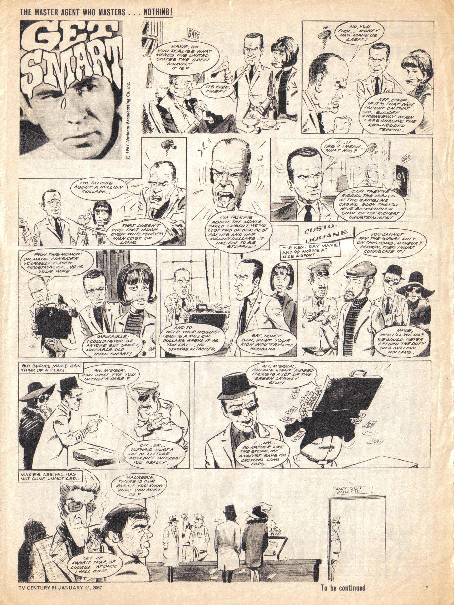 Read online TV Century 21 (TV 21) comic -  Issue #105 - 7