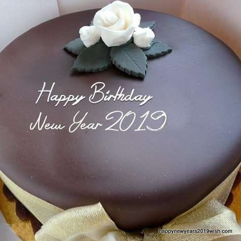 Letest Happy New Year Cake Designs with Names and wishes