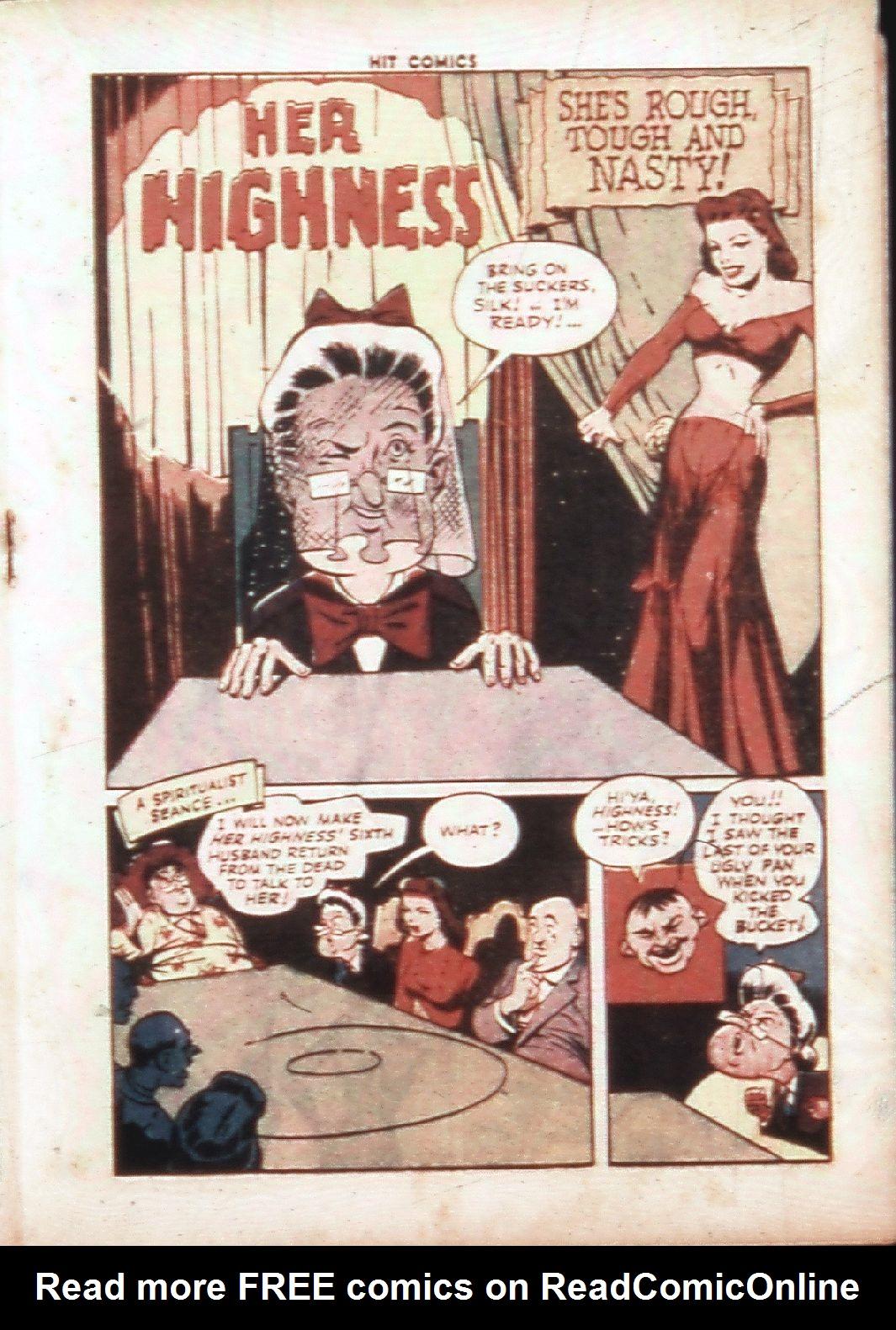 Read online Hit Comics comic -  Issue #30 - 32