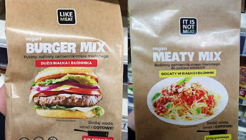 Burger Mix,  Like Meat