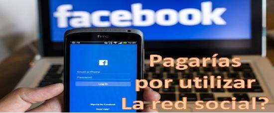 Facebook con moelo de pago