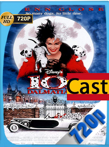 101 dálmatas  ( 1996 )  HD [720p] castellano [GoogleDrive] MacacoupHD