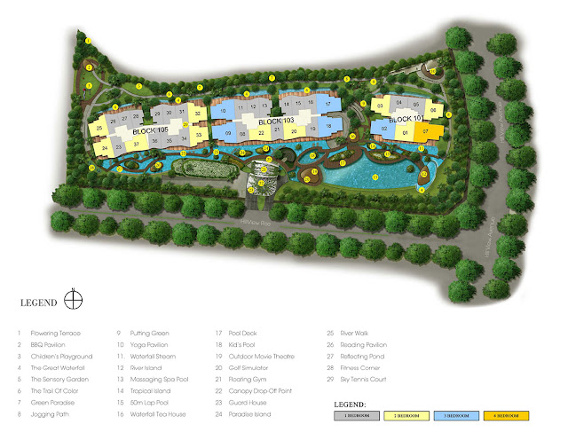 Kingsford Hillview Peak Site Plan