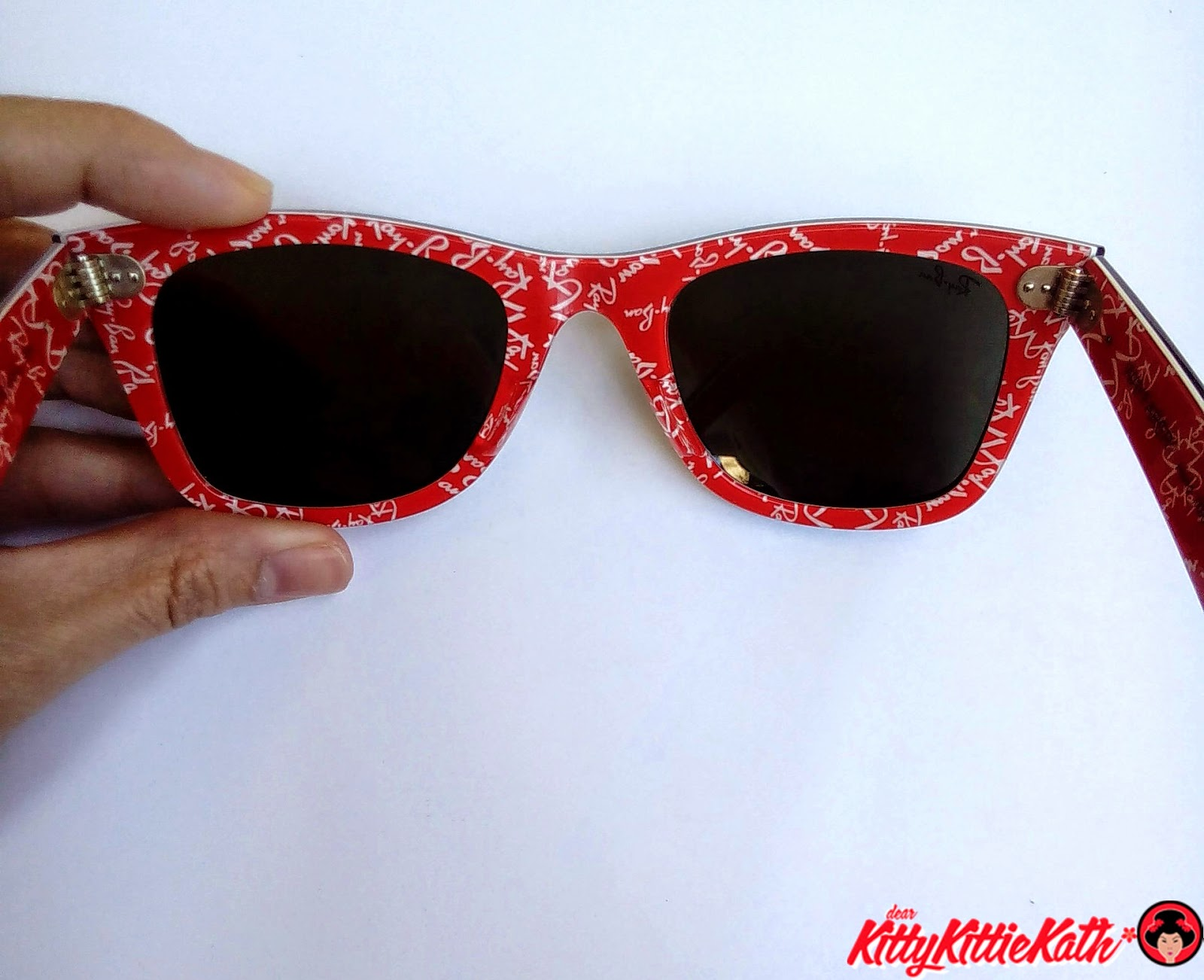 f35d9efe66 Ray-Ban Wayfarer Love from Glasses Online Philippines Ray-Ban RB2140  Original Wayfarer Rare Prints Special Series Logomania 1016