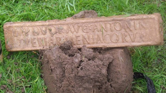 Roman lead ingot found by detectorist on Somerset farm