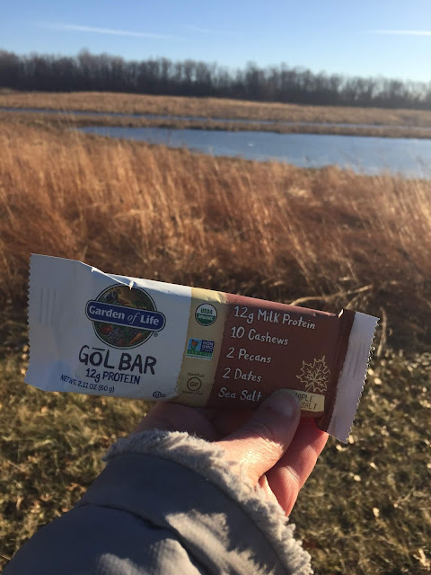 Garden of Life Gol Bar is a great snack to bring along on a hike. I was happy to find one in my Degusta Box!