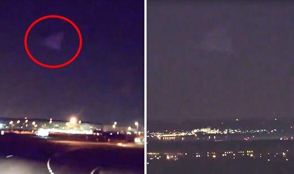 Μυστηριώδη «τριγωνικά αεροσκάφη» αιωρούνται Πάνω από το Πεντάγωνο.